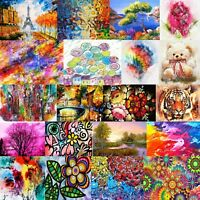 DMC Abstract Colorful Art Cross Stitch Pattern PDF 14 Counted Chart