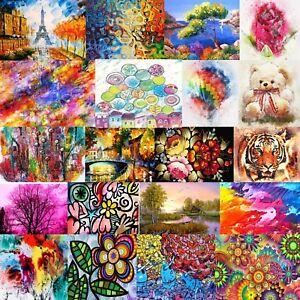DMC Abstract Colorful Art Cross Stitch Pattern PDF 14 Counted Chart