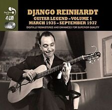 DJANGO REINHARDT - GUITAR LEGEND, VOL. 1 NEW CD
