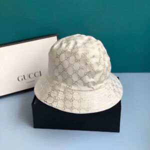 Gucci Lame White Bucket Hat