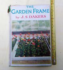 GARDENING, THE GARDEN FRAME - J.S.DAKERS, OUTDOOR COLDFRAME, GREENHOUSE