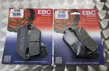 2x EBC FA 196 Pastillas Freno HONDA CBR 1000 F, 89-92, GL 1500 C,F6C VALKYRIE
