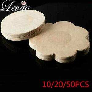 30pc Disposable Non-woven Invisible Nipple Cover Patch Women Bra Nipple Stickers