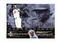 2002 Upper Deck Piece of History #59 Sammy Sosa SP Chicago Cubs