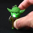 Star War Jedi Master Yoda with Sound Led Flashlight Toys Keychain Decoration