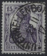 Germania MiNr. 101a gestempelt in UNTERWELLENBORN am 22 11 17