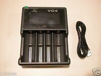 XTAR VC4 USB BATTERY CHARGER 10440 14500 14650 15270 16340 18650 18700