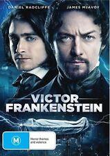 Daniel Radcliffe/James McAvoy : Victor Frankenstein - Ex-Rental DVD (Exc. Cond.)