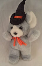 Deluxe Playthings Halloween Mouse Witch Plush Stuffed Animal Toy Boy Girl 3+