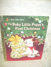 LITTLE GOLDEN BOOK THE POKY LITTLE PUPPY'S FIRST CHRISTMAS
