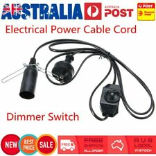 Electrical Power Cable Cord for Salt/Selenite Lamps (Dimmer Switch) AU Plug 1.8M