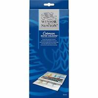 Winsor and Newton Cotman Water color Paints, 45 Half Pans