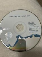Valio la Pena by Marc Anthony (CD, Jul-2004, Sony CD Only
