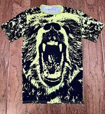 Under Armour Mens Sz L Alter Ego Beast Bear Graphic Compression Shirt Large Euc