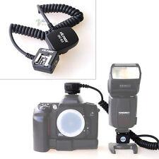TTL Off Camera Hot Shoe Flash Sync Cable Cord For Canon OC-E3 430EX 580EX II