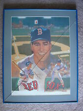 Phil Plantier Red Sox Autographed Signed Lithograph Framed Limited #260/500