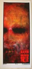 2007 Slayer & Unearth - Silkscreen Concert Poster S/N Martin