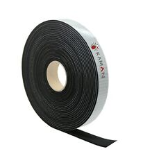 1 x Zellkautschuk Band Selbstklebend Moosgummi EPDM - 5m Rolle - 15mm x 10mm