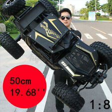 RC Cars 4WD Monster Truck Off-Road Vehicle 2.4G Remote Control Crawler Electric