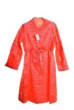 Vintage Kayser Loungewear Robe Quilted Peach Orange Large Nwt