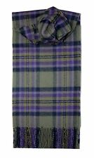 HEATHER ISLE TARTAN SCARF 100% LAMBSWOOL  by LOCHCARRON