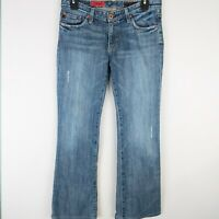 AG Adriano Goldschmied The Angel Light Wash Boot Cut Women's Jeans Size 27