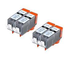 4 NON-OEM INK CARTRIDGE CANON PGI-220 PGI-220BK BLACK PIXMA MX870 MP640R MP620B