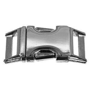 "New 3/4"" Metal Batz Buckle Side Release Contoured Sturdy for Paracord Bracelet"