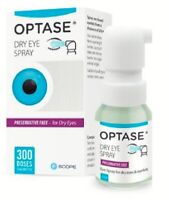 Optase Eye Spray Dry Eyes & Eyelids Preservative Free, 300 Applications