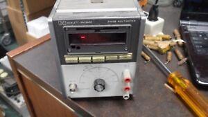 HP 3469B Multimeter