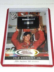 2008 Press Pass Racing Dale Earnhardt Jr. PLATINUM Insert Card P101 #/100!!