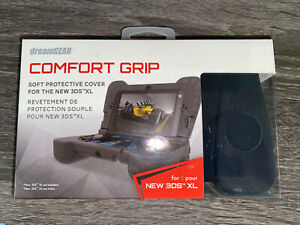 DreamGEAR Black Comfort GRIP Protective Cover for the New Nintendo 3DS XL New