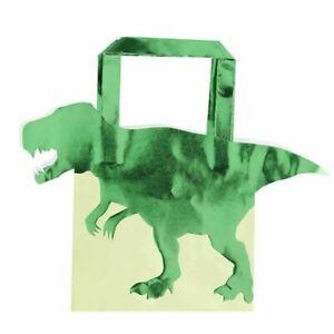 Dinosaur Party Treat Bags | Boys Kids Birthday Favours x5