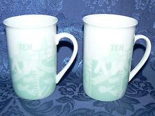 STARBUCKS 1998 8 OZ PAIR SET OF 2 TEH TEA COFFEE MUGS TEA CUPS NO LIDS
