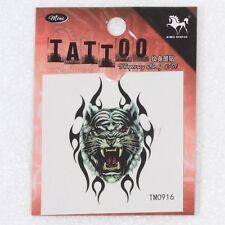 3d body painting stealth waterproof simulation tattoo paste Temporary Art Tiger