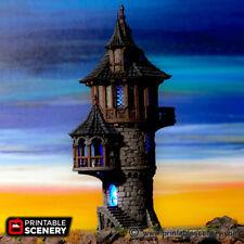 Wizard Tower 28mm Tabletop World Games D&D Terrain Wargaming RPG Dwarven Forge