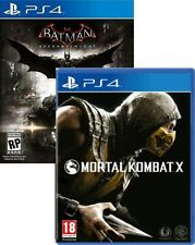 Batman Arkham Knight  & Mortal Kombat X PS4 New Free Express Post