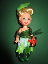 B1158) vieja barbie Shelly holiday party Christmas kelly con regalo mattel 2004