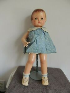 "Vintage Antique 19""  Effanbee Patsy Composition Doll Jointed"