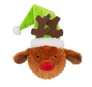 Armitage Goodboy Christmas Dog Toys - Reindeer Thrower Fetch Toy 30cm Squeaky