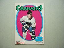 1971/72 O-PEE-CHEE NHL HOCKEY CARD #122 PAT QUINN EX/NM SHARP!! 71/72 OPC