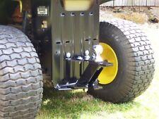 P&M Fabrication 3 Way Universal Lawn Mower Garden Tractor Hitch John Deere