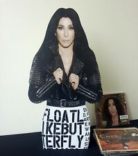 Cher Display Desktop Stand Standee NEW Dressed to Kill D2K Closer to the Truth