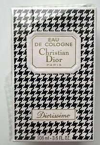 Christian dior DIORISSIMO EAU DE COLOGNE 108 ml 3.6 fl oz VINTAGE SEALED BOX