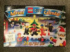 LEGO CITY 7687 Calendario dell'Avvento (2009) Nuovo di Zecca