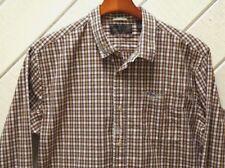 SCOTCH & SODA Stitched & Patch Sun Design Check Plaid Cotton Shirt_Sz.L_Pocket