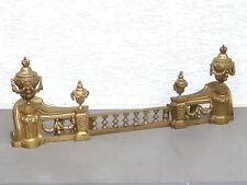 Paar Kaminböcke (Avant Cheminée), Napoleon III, um 1860, 3-teilig