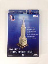 3D Chrysler Building Puzzle 70 Pieces Daron Decorative Collectible New
