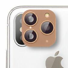 Handy Kamera Fake iPhone X Objektiv Sticker Aufkleber Schutz Abdeckung Gold