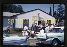 1959 Landmark Missionary Baptist Church - Chevrolet Bel Air - Vintage 35mm Slide